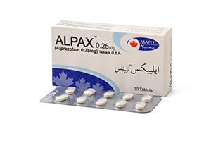 Alpax .25mg