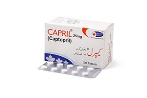 Capril 25mg 100 tablets