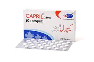 Capril 25mg 30 tablets