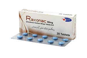 Raxonac 50mg